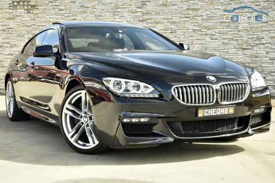 2013 BMW 650i GRAN COUPE For Sale NSW